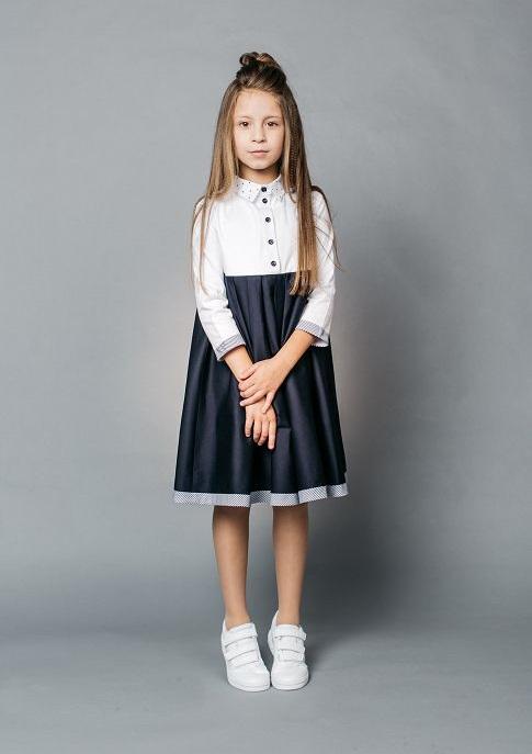 платье в школу нарядное