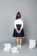 Красивое школьное платье на девочку 6-14 лет