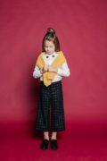 Зручний шкільний одяг для дівчинки - кюлоти брюки