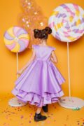святкове плаття на дівчинку бузкове